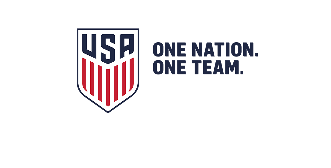 U.S. Soccer Crest - One Nation. One Team.